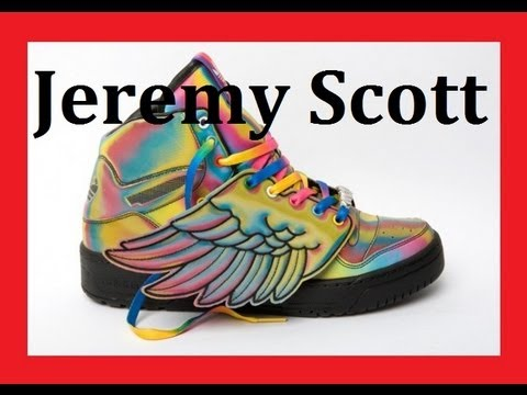 Adidas Jeremy Scott Wing Shoes Unboxing