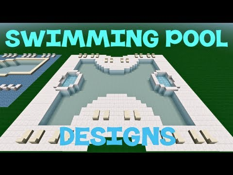 Minecraft swimming pool designs youtube for Pool design tv show