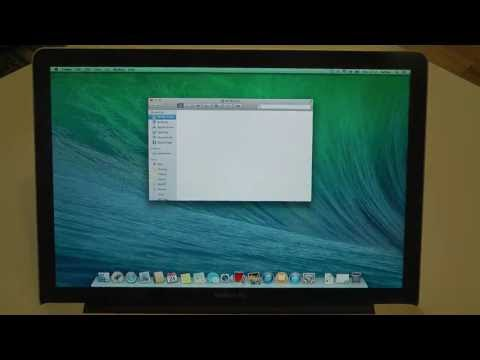 Apple MacBook Pro Mac OS X 10.9 Mavericks - First Look