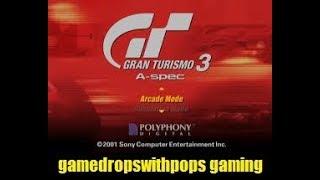 Lets Play Gran Turismo 3: A-Spec on the PCSX2 Sony Playstaion 2 Emulator Retro Fun Run Pt 3