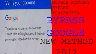 bypass any samsung  Google verify account [ easy ] frp lock remove 2017 100% tested