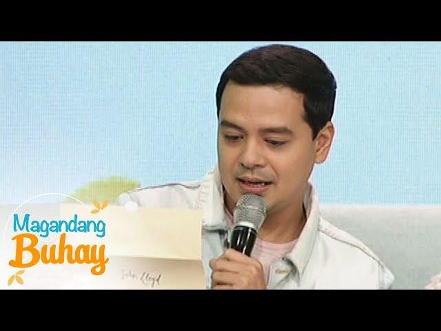 Magandang Buhay: Messages for John Lloyd