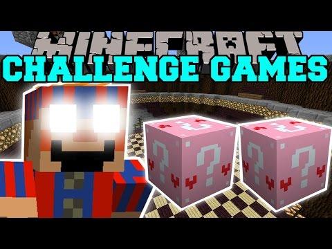 Minecraft: Balloon Boy Challenge Games - Lucky Block Mod - Modded Mini-game video