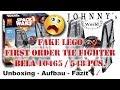 Fake Lego Star Wars First Order Tie Fighter - Bela 10465 - Schlimmer geht immer!