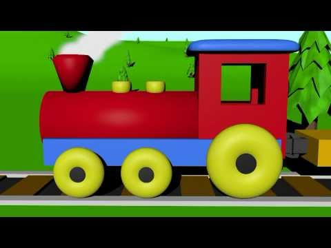 The Number Train - Learning For Kids video