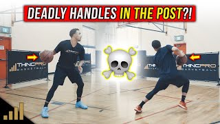 How to: DOMINATE IN THE POST! Use these DEADLY Post Dribbling Moves to KILL Your Defenders!