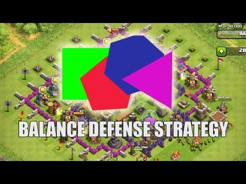 Clash of Clans - Part 33 - Balance Defense Strategy