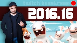 Livestream 2016 #16 - Rayman Raving Rabbits, Dishonoured