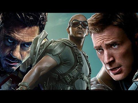 Anthony Mackie Talks Captain America 3 Civil War