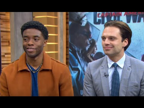 'Captain America: Civil War': Chadwick Boseman, Sebastian Stan Open Up