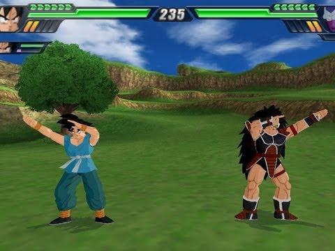 Goku and Raditz Fusion (Dragon Ball Z Budokai Tenkaichi 3 Mod...