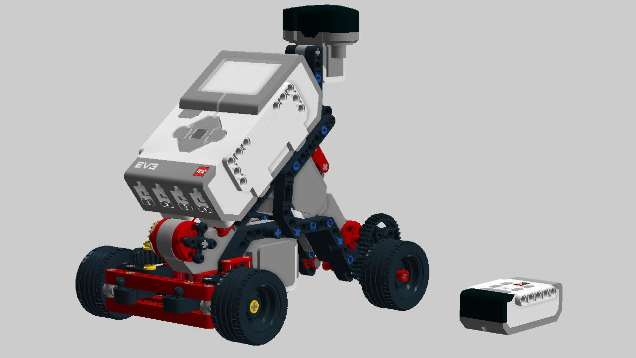 Lego Mindstorms Ev3 Building Ir Controlled Car 01 Youtube