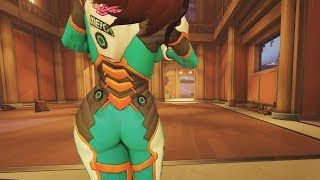 Here's How To Do The Perfect D.Va Emote!! - Overwatch Arcade Moments