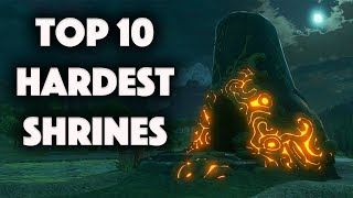 Zelda: Top 10 Hardest Shrines