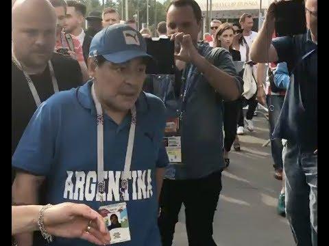 Марадона опять обдолбался? Мутный взгляд Диего и самое интересное на финале ЧМ по футболу