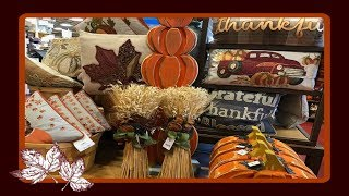 Shop With Me at Pier 1! Fall/Autumn Home Decor 2018