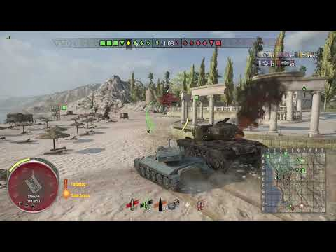 World of Tanks Xbox one AMX 13 75 5 Kills