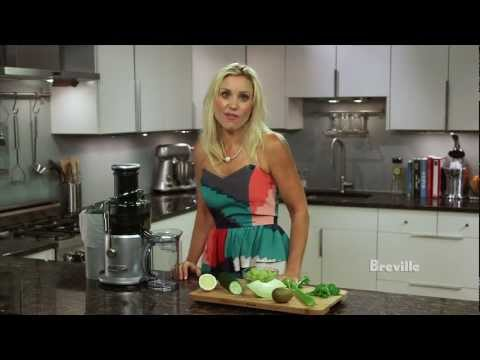 Breville -- Health Full Life™: Morning Jolt Juice Recipe with fruits and vegetables