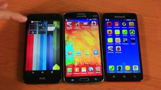 HTC Desire 616 vs Lenovo S850  vs Samsung Grand 2 Сравнение