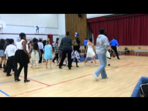 Dancing feet at Joe Walker Middle school