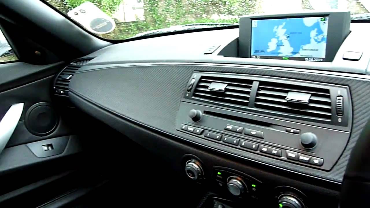 Interior View Of The Bmw Z4m Roadster E85 Youtube