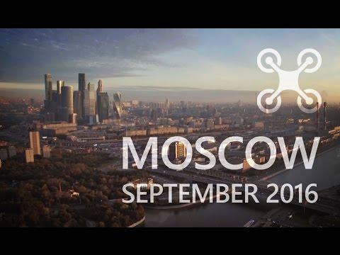 Moscow, Aerial // Москва, Аэрофотосъемка // DJI Phantom 4 // 4K