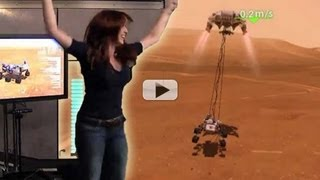 Mars Rover Xbox 360 Game Demo'd By Apollo 14 Granddaughter | Video