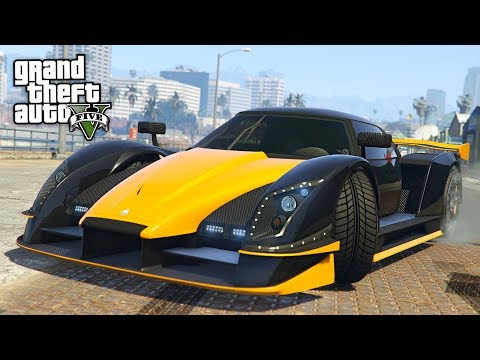 GTA 5 - NEW $2,750,000 AUTARCH SUPERCAR DOOMSDAY HEIST DLC SPENDING SPREE! (GTA 5 Online DLC Update)