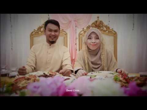 Syamim & Khadijah Wedding Day | العروس ( Brothers - Demi Cinta )