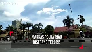 Markas Polda Riau Diserang Teroris