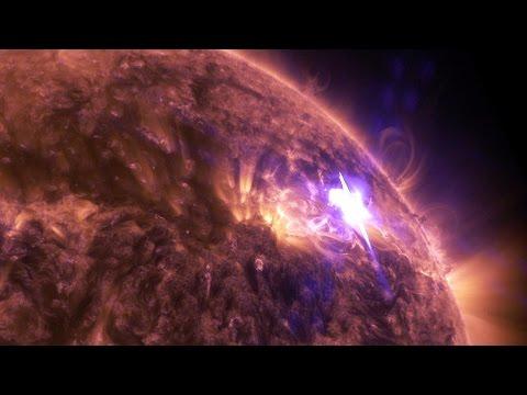 Une éruption solaire en 4K