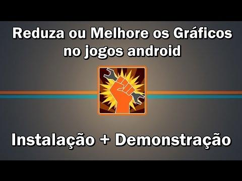 Diminua/Melhore os gráficos nos jogos android com GLTools (Instalação no Razr D1) / para android