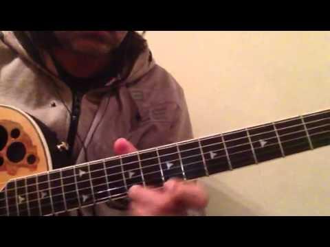 Khuda Jaane  guitar solo tutorial - Siddharth Singh