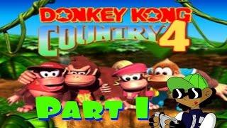 DKC4: The Kongs Return [Demo V0.3] (Part 1): Jetty Jungle and Kremlahari