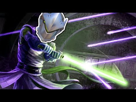 Overwatch - God-Tier Genji Deflects