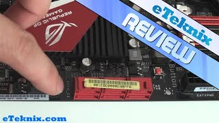 Asus Crosshair IV Formula AM3 Motherboard Video Review