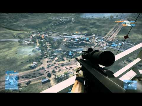 BATTLEFIELD 3 -PC on-line SNIPER antena TORRE