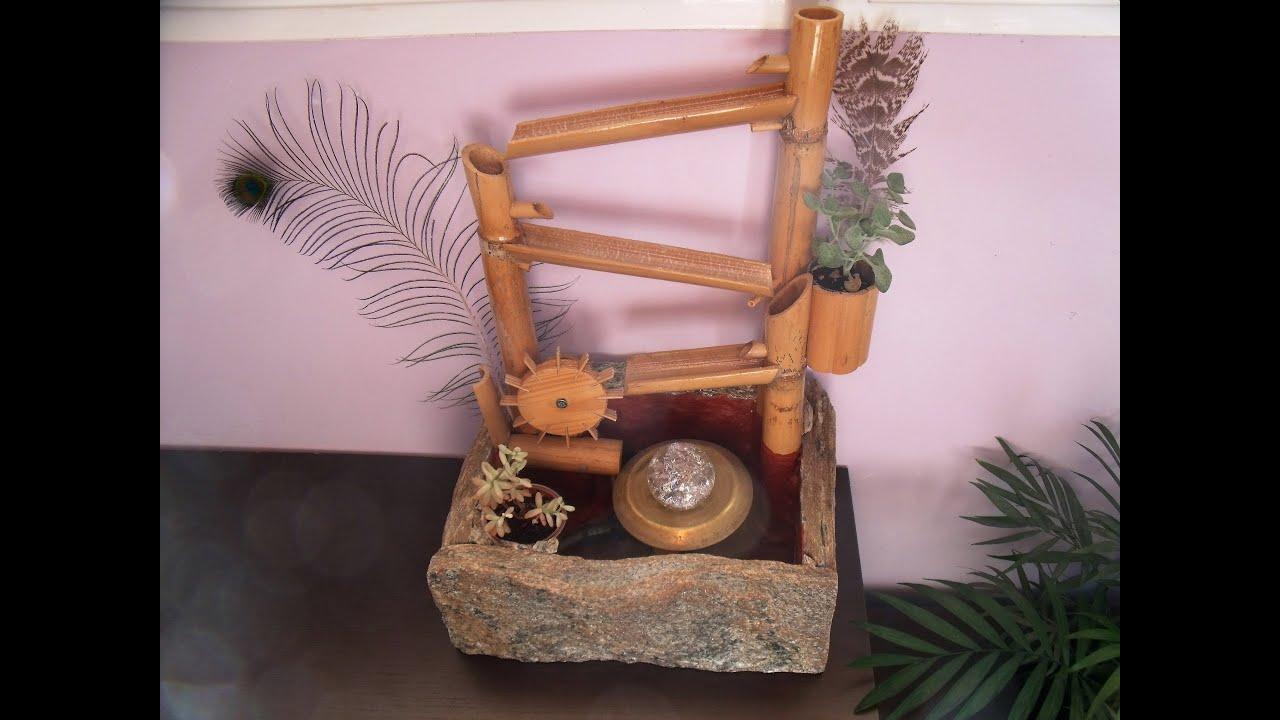 Fuente decorativa casera youtube - Fuentes para jardin caseras ...