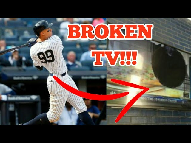 MLB Homeruns That Broke Things (HD)