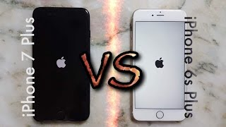 iPhone 7 Plus vs iPhone 6s Plus Hız Testi