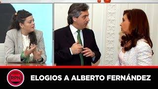 Camila García, joven dirigente del Grupo Callao, elogió al precandidato Alberto Fernández