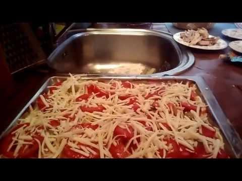 Как быстро приготовить пиццу. Рецепт без замеса теста.