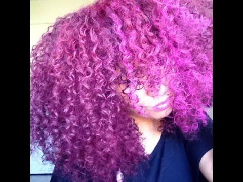 Natural Hair Temporary Color BTZ Color Mousse YouTube