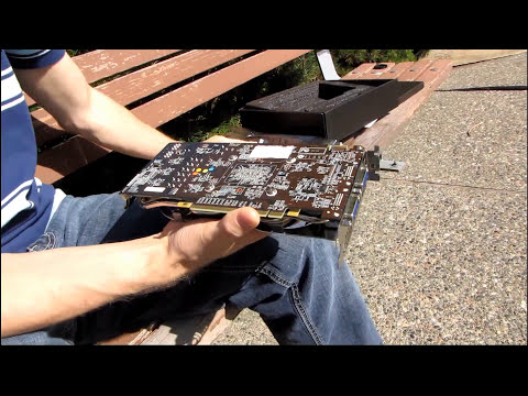 MSI GTX 460 Hawk 1GB Overclocking Optimized Graphics Card Unboxing & First Look Linus Tech Tips