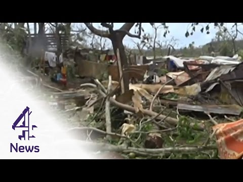 Cyclone Pam: the aftermath of Pacific islands' worst storm in history | Channel 4 News