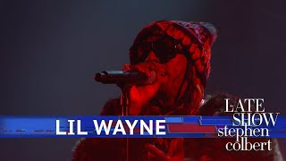 Lil Wayne Performs 'Don't Cry'