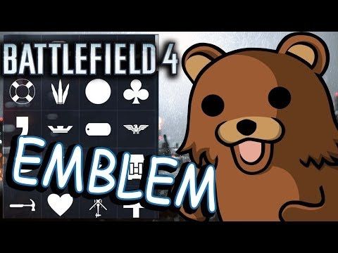 Battlefield 4. Emblem. Guide how to create Pedobear emblem!