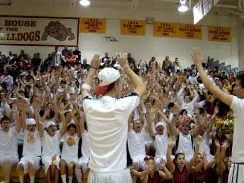 Batavia High School roller coaster cheer