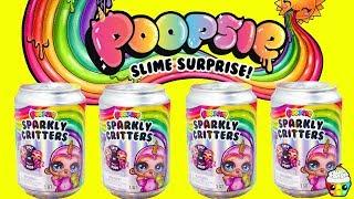NEW Poopsie Sparkly Critters Poopsie Slime Surprise Cupcake Kids Club