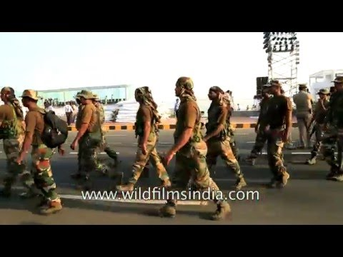 Special Indian Army commando force for high security in Visakhapatnam